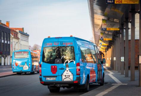 Kostenloses LiLi-Bus-Angebot über Weihnachten hinaus