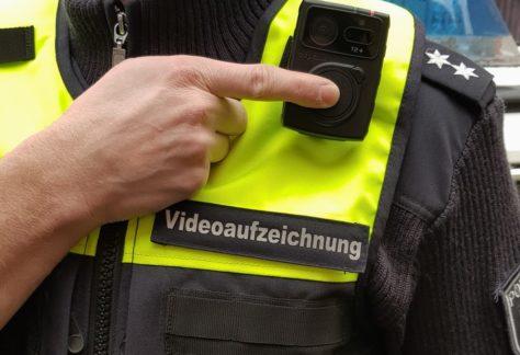 Polizeibeamte im Emsland und der Grafschaft Bentheim bekommen Bodycams
