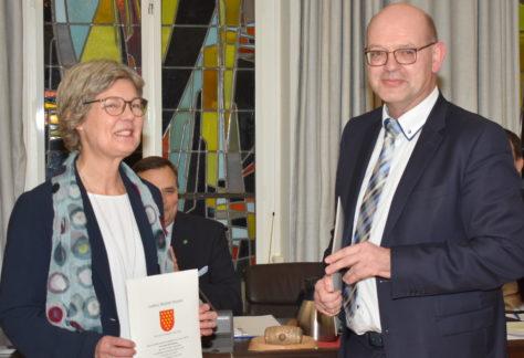 Einstimmig gewählt: Gunda Gülker-Alsmeier neue Kreisrätin in der Grafschaft