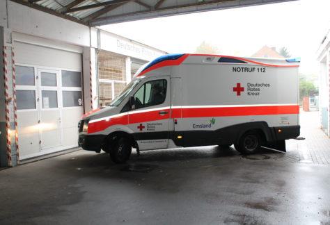 82-Jährige bei Unfall mit Elektroscooter-Fahrer in Nordhorn verletzt
