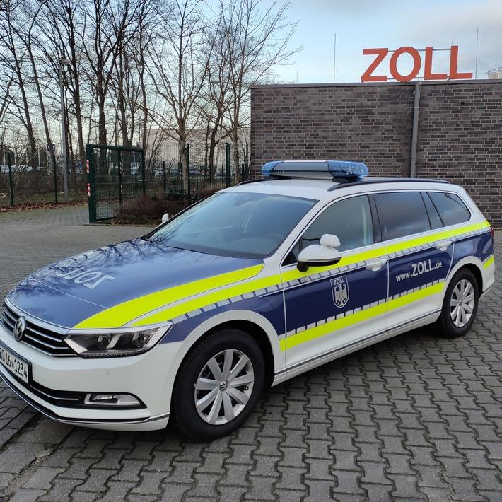 Erster blauer Dienstwagen beim Hauptzollamt Osnabrück vorgestellt - Ems  Vechte Welle