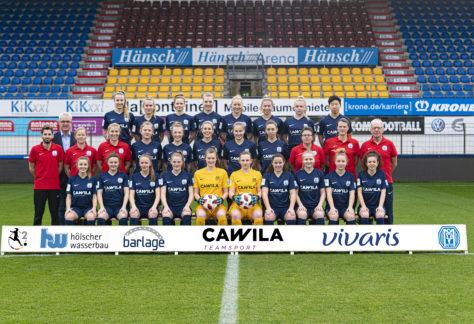 Damen des SV Meppen steigen in die erste Liga auf