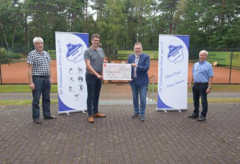 Tennisabteilung des SV Holthausen-Biene erhält rund 11.400€