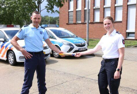 Isabelle Hömme ist neue Leiterin des Grenzüberschreitenden Polizeiteams
