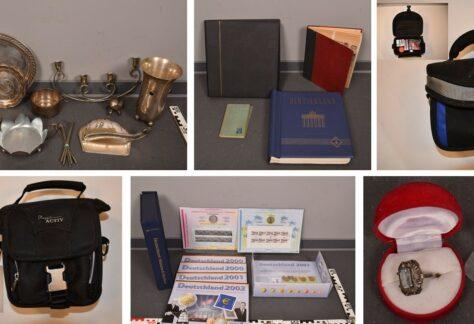 Meppener Polizei sucht Eigentümer von gestohlenen Gegenständen
