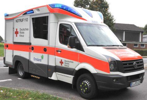 Unfall am Straßenrand: Frau in Lingen schwer verletzt