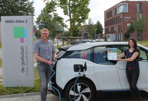 Grafschaft erhält Zuwendungen für kreisweites Elektro-Carsharing-Projekt