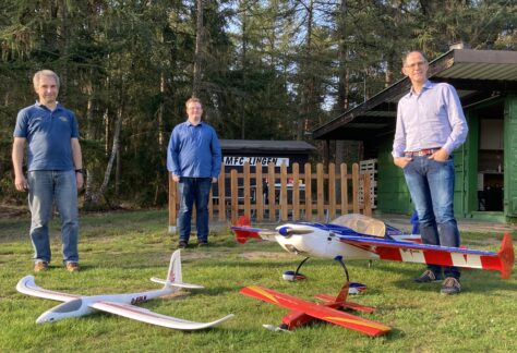 Modellflug beim MFC-Lingen seit 1978
