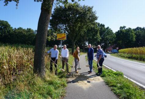 Radwegserneuerung zwischen Bawinkel und Langen