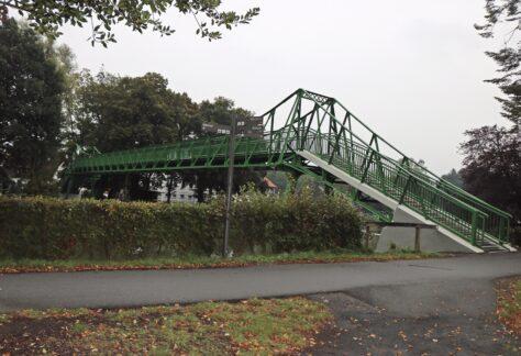 Fußgängerbrücke an der Schülerwiese in Meppen freigegeben