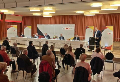 CDU-Mitglieder nominieren Albert Stegemann zur Bundestagskandidatur