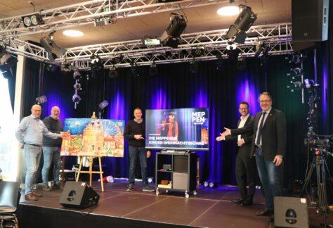 Stadt Meppen bietet Kinder-Weihnachtsbühne digital an