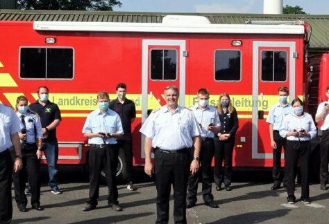 Zahl der Einsatzkräfte in den emsländischen Feuerwehren gestiegen