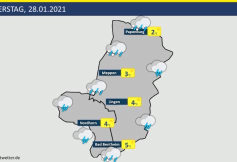 Wetter: Luftmassengrenze über der Region - Wo fällt Schnee, wo Regen?
