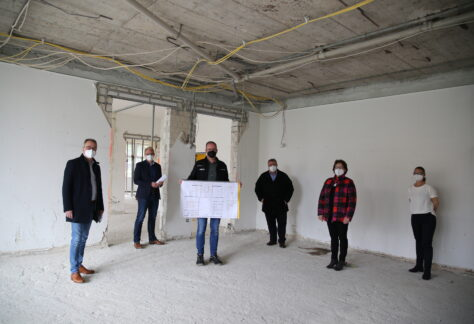 Dritte Baumaßnahme an Grundschule und Oberschule in Rütenbrock gestartet