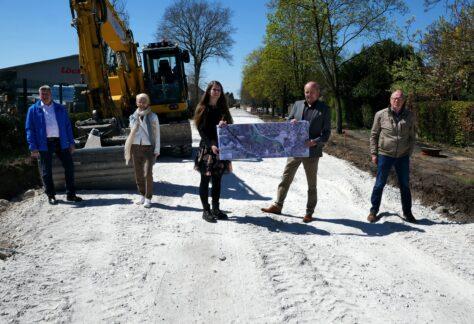 Sanierungsarbeiten der Rheiner Straße, Bahnhofsstraße und Bernard-Krone-Straße in Spelle gestartet