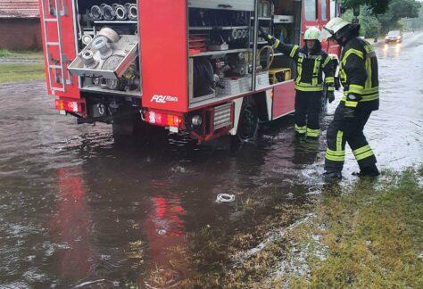 Einsätze durch Regenfälle in Spahnharrenstätte