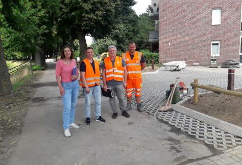 Stichstraße in Nordhorn für den Verkehr wieder frei gegeben