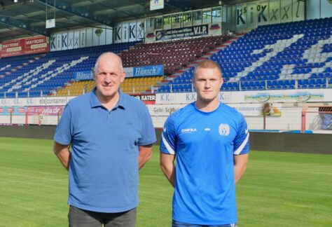 Daniel Benke vom JLZ unterzeichnet Profi-Vertrag beim SV-Meppen