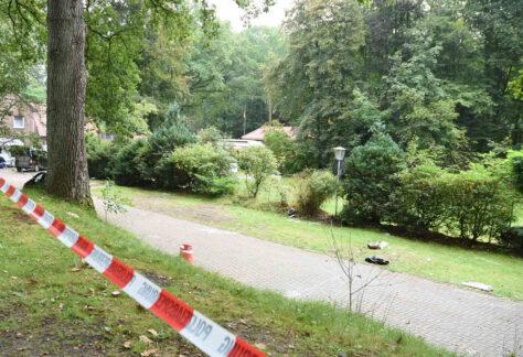 Großer Polizeieinsatz in Emsbüren: Zwei Menschen bei Auseinandersetzung auf Campingplatz schwer verletzt