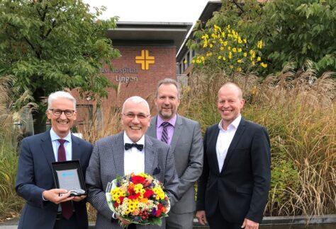 Prof. Dr. Dr. Gerald Kolb erhält DGG-Preis für das Lebenswerk in der Altersmedizin